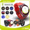 携帯電話の腕時計のBluetooth人間の特徴をもつGPSのスマートな腕時計