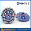 Roda abrasiva da estaca da ferramenta do diamante de China Manufactire