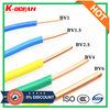 Prix de câble électrique de fil de Chambre du constructeur 0.75mm 1mm 1.5mm 2.5mm 4mm bon