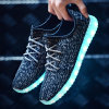 Mann-Frauen-Schuh-China-Fabrik des Form-Fußbekleidung-Aufladungs-blinkende Schuh-Komfort-LED
