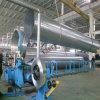 Gewundenes Gefäß, das Maschine für die Ventilations-Rohrleitung bildet Produktion bildet