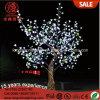 luz animador da árvore da palma frondosa do diodo emissor de luz de Gaint do branco de 3.5m para a decoração ao ar livre