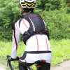 Fabbrica che viaggia facendo un'escursione il sacchetto piegante di riciclaggio di campeggio di Packpack di sport