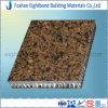 Panneau en pierre tropical de nid d'abeilles de Brown pour le Tableau de pièce de cuisine