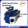 портативный дешевый сварочный аппарат лазера 80W для ювелирных изделий с охлаждением на воздухе