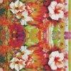 Tela impressa flor do vestuário do poliéster (PPF-074)