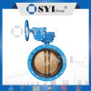 Anti Acid Concentric Flanged Butterfly Valve con Pneumatic Actuator (DN80)