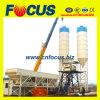 Skip Hoistの25m3/Hr Mini Concrete Batching Plant