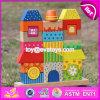 新製品の教育おもちゃの子供の木のスタッキングのブロックW13D140