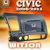 Honda Civic (W2-D735H)のためのGPSのWitson車のDVDプレイヤー