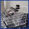 Organizzatore acrilico di trucco del cassetto del lusso 6 di vanità