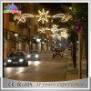 Openlucht LEIDEN van de Decoratie van Kerstmis van de Straat ZijIP65 Motief Lighs