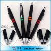 Plastic promozionale Black Barrel Ballpoint Pen con Clip