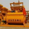 Mezclador concreto eléctrico inmóvil de Beton del eje gemelo (Js750)