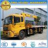Dongfeng 6 dreht 8 Tonnen Wrecker-LKW-mit XCMG Kran-Preis