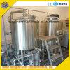 Equipo de la fabricación de la cerveza de la cervecería de dos vasos