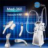 Vide chaud de vente de KES amincissant le corps de Velashape de haute performance de machine amincissant la machine avec les rouleaux de lumière infrarouge de vide DEL rf à Pékin