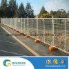 Frontière de sécurité provisoire galvanisée plongée chaude de maillon de chaîne de construction
