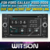 Witson Car DVD para Galaxy Car 2000-2009 DVD GPS 1080P DSP Capactive Screen WiFi 3G Front DVR Camera