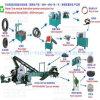 機械、ゴム製粉の生産ラインをリサイクルする不用なタイヤ