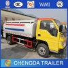 5000L Dongfeng Foton 6 짐수레꾼 빛 기름 연료 유조 트럭 판매