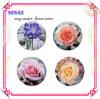 Regalo promocional del práctico de costa de la taza, práctico de costa determinado de la taza de la flor de cerámica