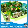 Trampolin im Dschungel Stil mit Kinderspiel (QL-1124AE)