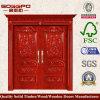 別荘の外部絵画純木のドア(XS1-001)