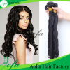 Extensão não processada por atacado do cabelo humano do cabelo de Remy do Virgin da alta qualidade