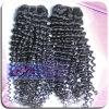 De alta calidad 10-Inch mongol Kinky Virgen rizada corta armadura del pelo
