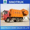 2015年のガーベージTruck、Sinotruk HOWO 6X4 Compactor Garbage Truck