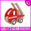 Kid、Construction Toy Wooden Fire Trucks、Christmas Gift Wooden Toy Fire Truck W04A101のための2015最新のStyle Wooden Toy Fire Truck