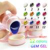 #40267 Gdcoco 12 Farben-Gelee-Gel, Glasgel, Diamant-Edelstein-Gel