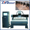 Máquina de gravura de madeira do CNC com 4 cabeças