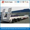 HochleistungsHydraulic 60t-100t Tri-Axle Low Bed Truck Trailer Lowbed Semi Trailer