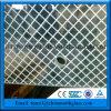 Silkcreen pintó con el vidrio decorativo del orificio