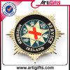 Pin personalizzato del distintivo di marchio di disegno 3D