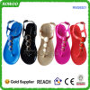 여름 숙녀 Evening Sandal Wholesale PVC Sandals (RW26201)