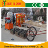 Plus petit Hydraulic Concrete Hollow Block Making Machine (alimentation électrique engine&electric diesel)