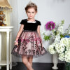 La plus nouvelle robe de fille de fleur de Bonnybilly, robe de soirée d'enfants