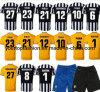 Pullover costante superiore 2014 di Tevez Juventus Pirlo del pullover di Juventus Pogba di versione del giocatore di Juventus Jersey di qualità della Tailandia Buffon