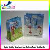 Impreso Bolsa de papel plegado de compras Bolsa de papel personalizado
