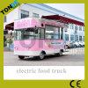 Camion électrique mobile de crême glacée de vente chaude