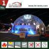 野外活動のための防水透過PVCカバー測地線ドームのテント