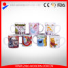 Caneca cerâmica com desenhos animados para crianças
