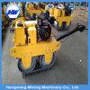 Compactador vibratório vibratório de cilindro duplo de motor diesel