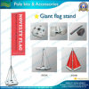 Flagpole del gigante di 4m/5m/7m con la base riempita acqua (NF23M01011)