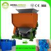 Dura-Déchiqueter le prix de réutilisation en plastique de rebut de machine