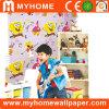 Papel pintado lavable Guangzhou del PVC del dormitorio de los cabritos