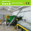 Automatische het flessenspoelen van het HUISDIER van het Afval Plastic recyclingslijn